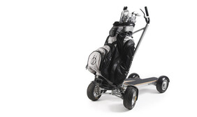 Mantys dynamic golf cart. The future of golf travel save $2500
